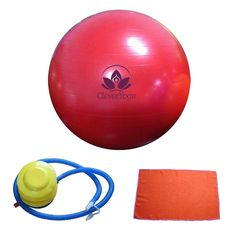 Clever Yoga Exercise Ball With FREE Hand Towel and Foot Pump _€ Comes With Our Special _€£Namaste_€½ * See this awesome image  : Weight loss Accessories
