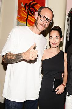 Purple Magazine and Proenza Schouler Dinner & Afterparty Terry Richardson and Audrey Gelman