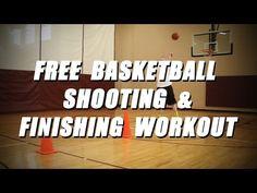 FREE Basketball Shooting and Finishing Workout - Shoot the Basketball like Stephen Curry - YouTube