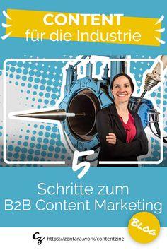 Content Marketing für Industrie-Produkte: ✓ B2B Buyer Personas ✓ Customer Journey ✓ Touchpoints ✓ Content Tipps ✓ Sales Support Handbuch #marketing #content #B2B