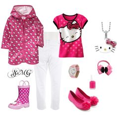 Well hello kitty, created by stacey-garcez