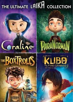 The Ultimate Laika Collection [4 Discs] [DVD]