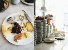 Individual cheese platters - pre-sliced. My Wanderlist: Buvette Paris