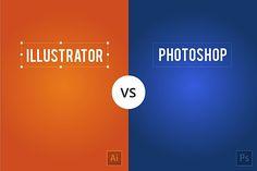 Illustrator vs Photoshop   Abduzeedo Design Inspiration