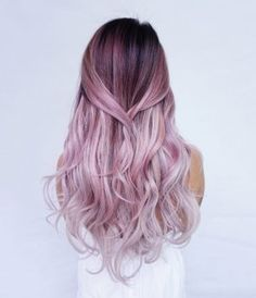 Beautiful pink ombre #ombre #pinkhair #hairstyle