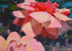 "Daily+Paintworks+-+""Happy+Flowers""+-+Original+Fine+Art+for+Sale+-+©+Carol+Marine"