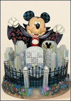 Jim Shore -Mickey Mouse vampire