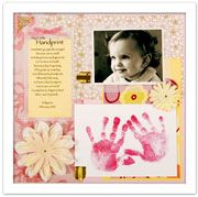 Footprints mommys day gifts pinterest footprints babys and personalized baby imprint products for baby handprint baby footprint and baby memory book negle Image collections