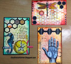 Claudine's Art Corner: 12 Tags of 2014 - June