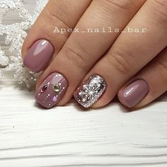 Untitled - Untitled You are in the right place about Nail fall Here we offer you the most beautiful pictures a - Xmas Nails, New Year's Nails, Holiday Nails, Christmas Nails, Gel Nails, Hair And Nails, Fancy Nails, Pink Nails, Cute Nails