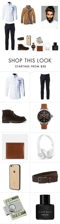 """Untitled #51"" by martaalmeida-i on Polyvore featuring Urban Pipeline, Officine Creative, Bell & Ross, Coach, Beats by Dr. Dre, Incase, HUGO, American Coin Treasures, Kenneth Cole and men's fashion"