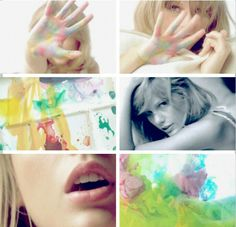 The Incredible Things photo shoot! It looks so amazing! So colorful! I hope this is the commercial photo shoot!