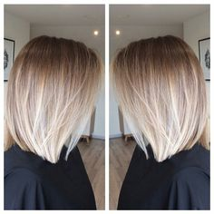 Stay Styled With These Trendy Ombre Bob Hairstyles Medium Hair Styles, Short Hair Styles, Hair Affair, Hair 2018, Hair Today, Hair Looks, Hair Lengths, Bob Hairstyles, Hair Inspiration