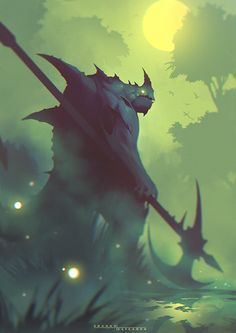 Swamp Beast by ShahabAlizadeh on DeviantArt