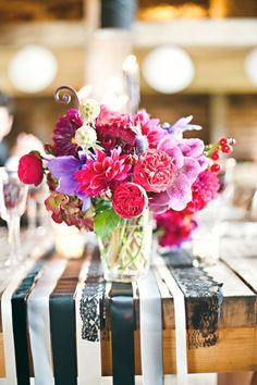 we can add other colors and flowers you like (orange/reddish) but it had the hints of purple, pinks---too much texture?