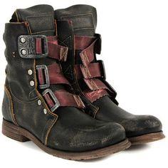 Fly Stif Black Boots