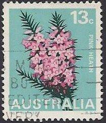 Australia---13c---Pink-Heath--1968.