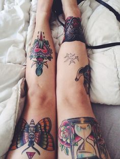 Traditional Tattoos - Artist Unknown