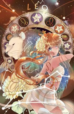 Manga zodiac signs personification - Lion