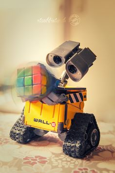 Rubik's Cube- Wall.E by strehlistisch.deviantart.com on @deviantART