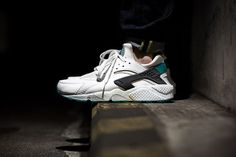 Image of Nike Air Huarache Turbo Green More at atechpoint.com/ #tech #atechpoint
