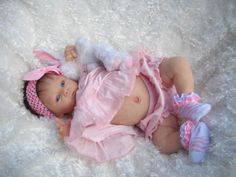 Reborn-Baby-Harlow-NEWEST-LE-by-Laura-Tuzio-Ross-Belly-Plate-MUST-SEE