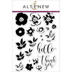 Flower Arrangement Stamp Set | Blitsy