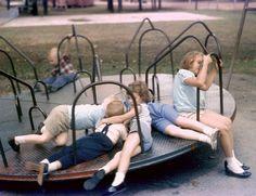 good old (dangerous) playground fun