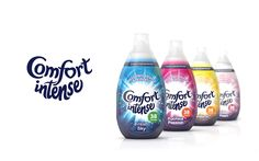 Comfort Intense on Packaging of the World - Creative Package Design Gallery