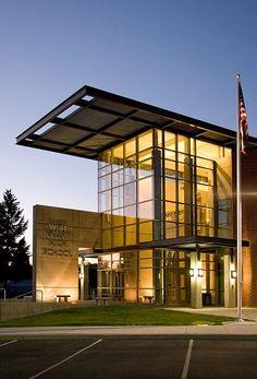 West Valley High School, West Valley School District - NAC Architecture: Architects in Seattle & Spokane, Washington, Los Angeles, California
