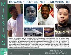 Find Missing Howard Rico Barnett!