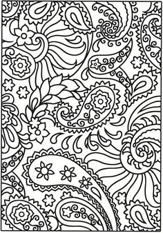 Creative Haven Paisley Designs Stained Glass Coloring Book