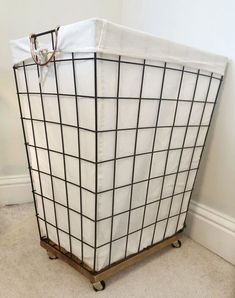Laundry Hamper In Bathroom Best Of Diy Laundry Basket with Wheels