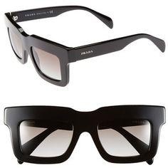 Prada 48mm sunglasses