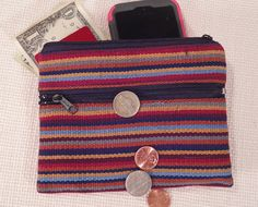 October Nutmeg Coin Purse Fair Trade 3 by EducationAndMore on Etsy, $10.00