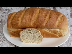 Házi kenyér egyszerűen - YouTube Baked Goods, Bread, Baking, Youtube, Food, Recipies, Brot, Bakken, Essen