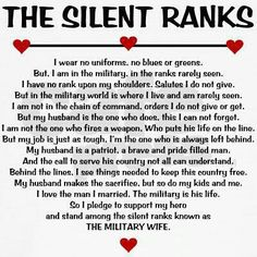 Reminds me of all the strong military sisters I call friends! I have had so many mentors and wonderful ladies help me along the way! Military Wife Quotes, Military Couples, Military Love, Navy Wife Quotes, Military Letters, Military Humor, Airforce Wife, Marines Girlfriend, Navy Girlfriend
