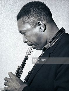 HALL Photo of John COLTRANE, Portrait of John Coltrane, profile