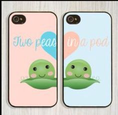 Cute Cartoon Bff Best Friends Hard Phone Case Cover For Iphone 7 6 Plus