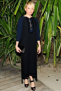 Michelle Williams - best dressed in Louis Vuitton