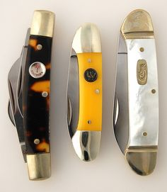 Pocket Knives are a must for bug out bags. Case Knives, Knives And Tools, Knives And Swords, Edc, Vintage Pocket Knives, Old Tools, Custom Knives, Knife Making, Folding Knives