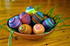 ♥ my pinky finger ♥: MORE Easter egg dyeing ideas