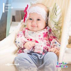 Moda Bebê   Moda Baby   Macacão   Look Para a Princesa