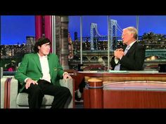"""Bubba Watson, a little less humble with David Letterman... """"Awesome""""!"""