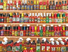 Springbok releases two collections of new jigsaw puzzles for sale a year. View the most recent collection of Springbok jigsaw puzzles for adults and kids, and more. Salsa Picante, Old Things, Things To Come, All Vegetables, Stuffed Hot Peppers, Good Advice, Photo Contest, Hot Sauce Bottles, Cool Toys