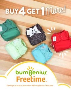 bumGenius Freetime - Buy 4 Get 1 Diaper Brands, Got 1, Baby Grows, Madame, Cloth Diapers, Diapering, Stuff To Buy, Clothes, Bebe