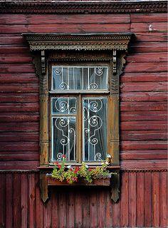 <3 Window in Kiev, Ukraine | by Sigfrid López, via Flickr