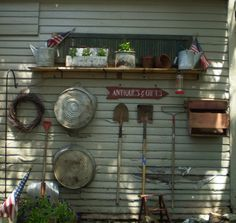 garden wallpaper Twigs Primitive Garden (Powered by CubeCart) Garden Junk, Lawn And Garden, Garden Tools, Garden Sheds, Rustic Gardens, Outdoor Gardens, Outdoor Projects, Garden Projects, Outdoor Decor