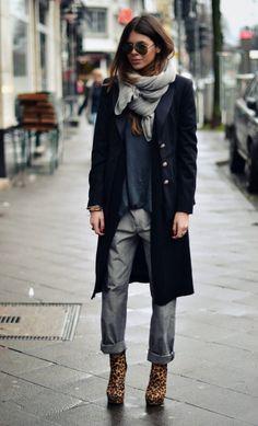Maja Wyh & boyfriend jeans