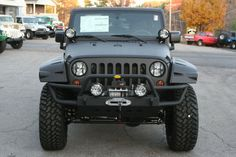 2012 Line-X Jeep Wrangler Unlimited